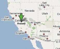 Fresno_California_Map